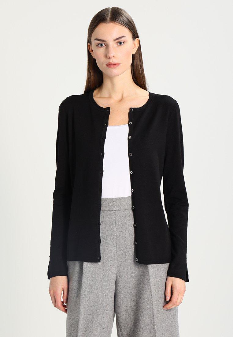 Esprit Collection CARDI - Gilet - black - Pulls & Gilets Femme 26wan
