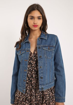 PIMKIE DUNKLE - Denim jacket - blau