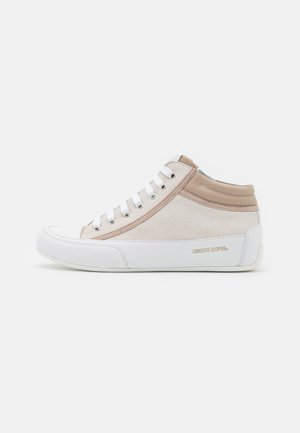 DENVER - Sneakers hoog - panna/polvere/orzo/bianco