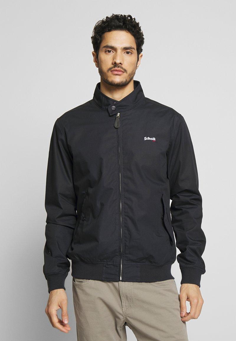 Schott - CABLE - Summer jacket - navy