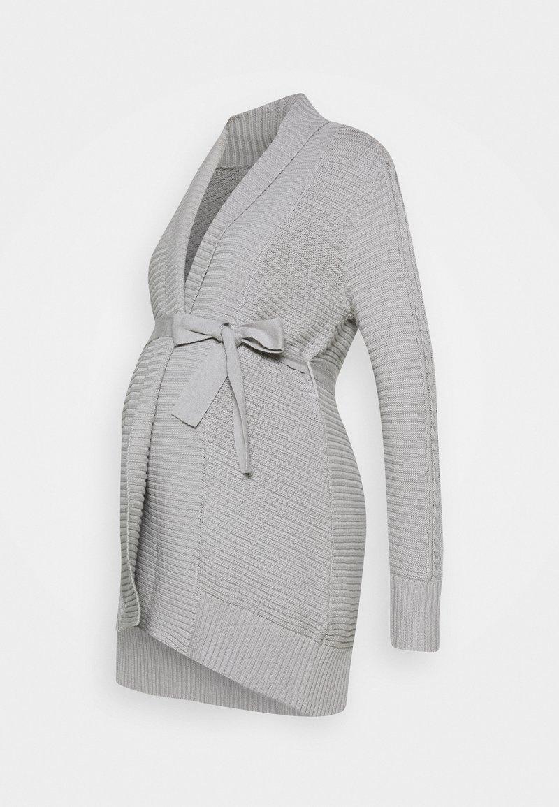 Anna Field MAMA - Chaqueta de punto - grey melange