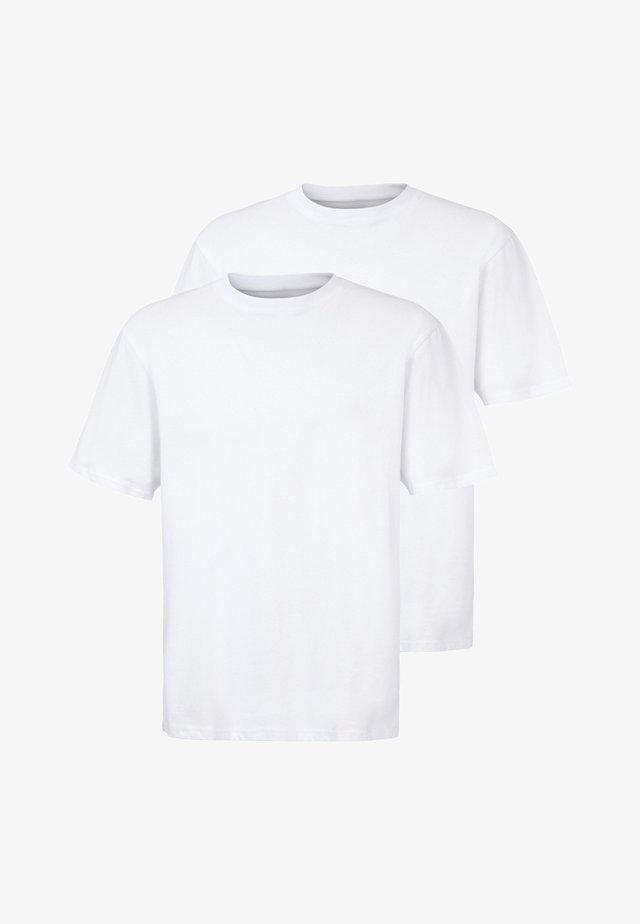 ERKE 2PACK - Basic T-shirt - white