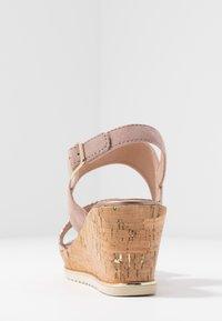 Jana - Platform sandals - rose/gold - 4