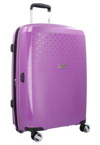 Hardware - BUBBLES - Kofferset - purple - 2