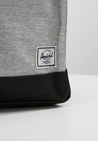 Herschel - CITY MID VOLUME - Reppu - light grey crosshatch/ash rose/black - 6