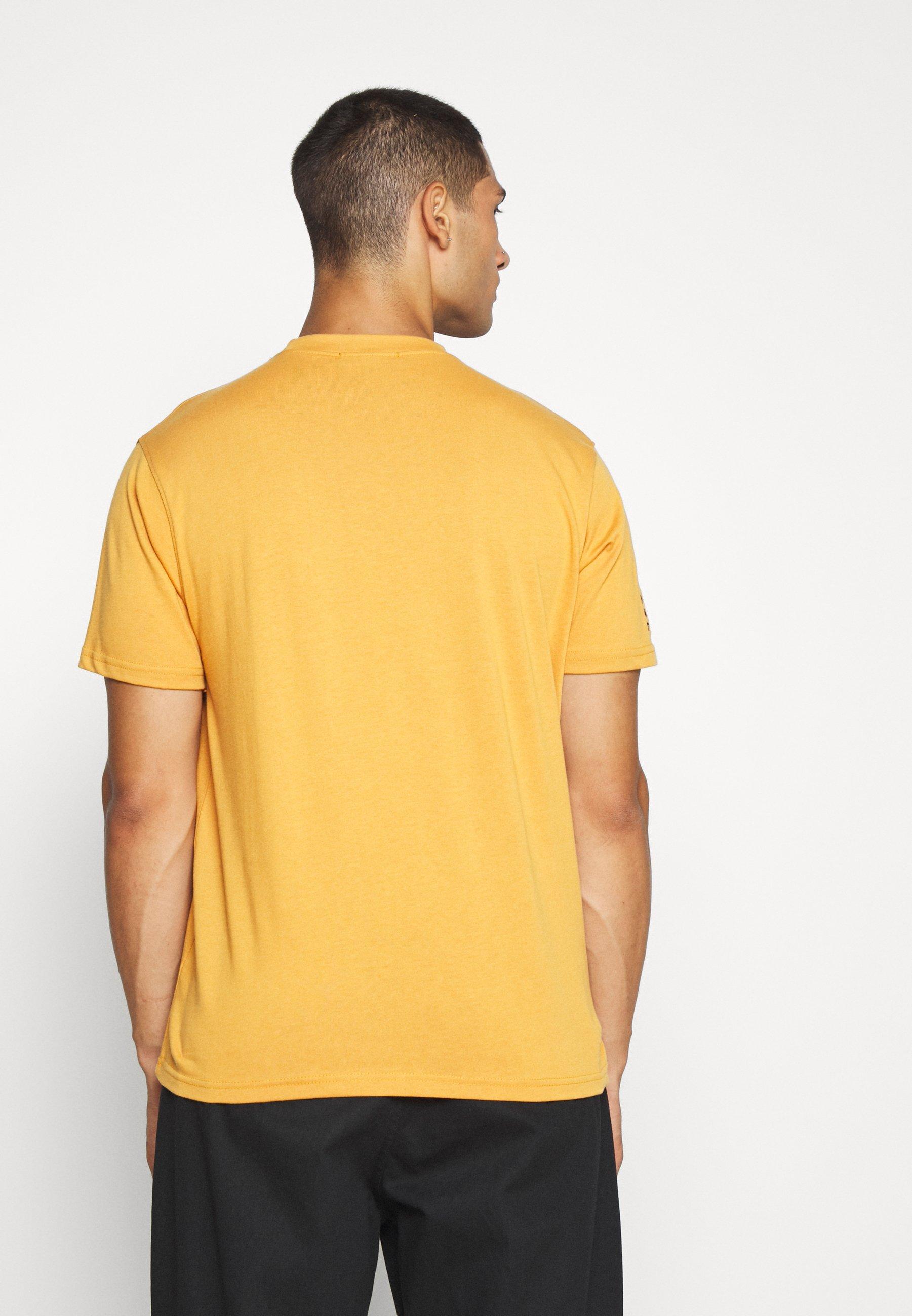Mennace CLASS OF 2020 - Print T-shirt - yellow uSMaY