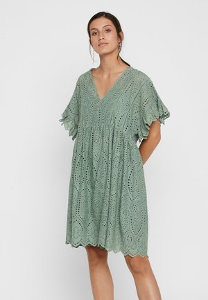 YASROSE - Day dress - hedge green