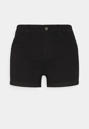 ONLROYAL LIFE - Szorty jeansowe - black