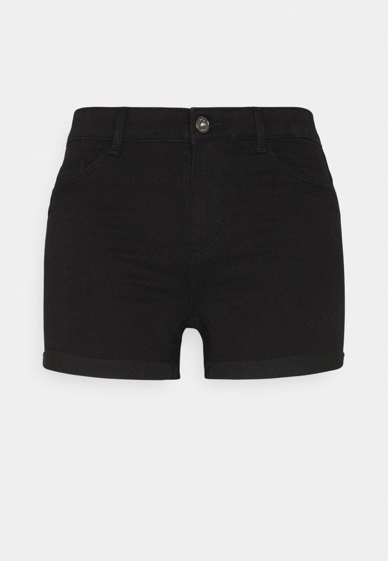 ONLY Petite - ONLROYAL LIFE - Denim shorts - black