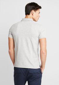 GANT - CONTRAST COLLAR RUGGER - Pikeepaita - light grey melange - 2