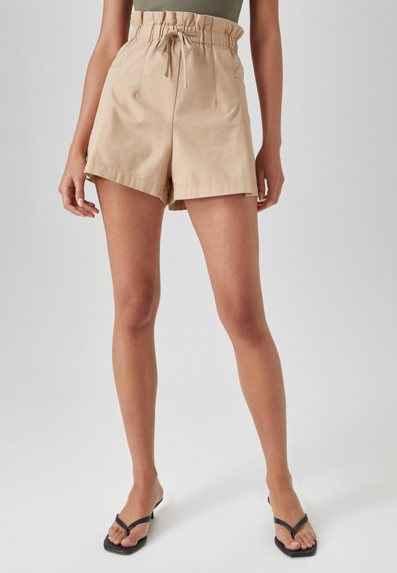 PULL&BEAR - Shorts - beige