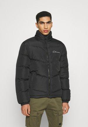 FUNNEL NECK - Winter jacket - black