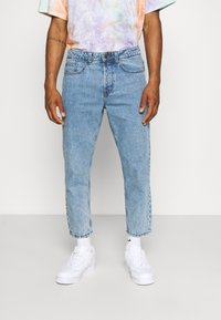 Only & Sons - ONSAVI BEAM LIFE CROP - Relaxed fit jeans - blue denim - 0
