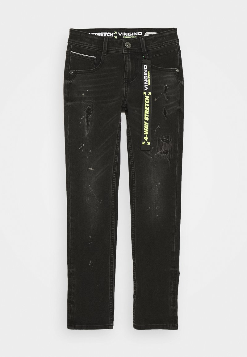 Vingino - AMADEO - Jeans Skinny Fit - black vintage