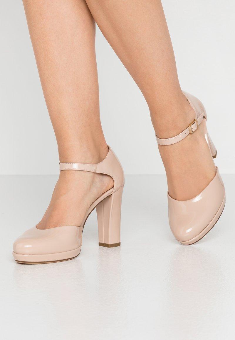 Tamaris - High Heel Pumps - nude