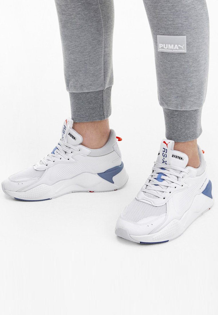 Puma - RS-X MASTER - Trainers - white-palace blue