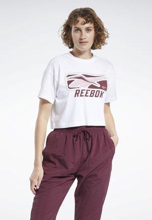 CLASSICS SOFT EDGE VINTAGE T-SHIRT - Print T-shirt - white