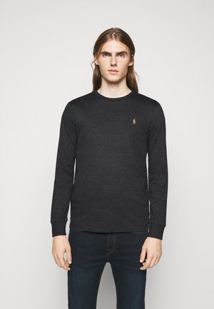T-shirt à manches longues - black marl heathe