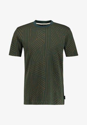 Print T-shirt - oliv (45)