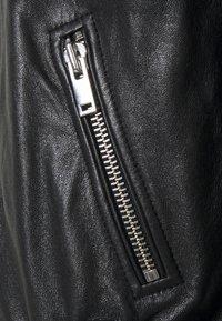 WEEKEND MaxMara - AXE - Leather jacket - schwarz - 2