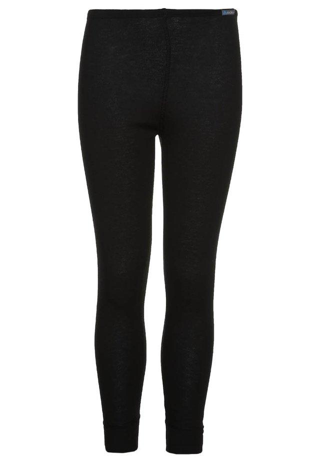 PANTS LONG WARM KIDS - Base layer - black