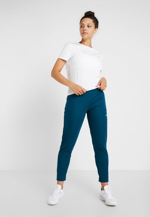 SHIELD PROTECT PANT - Spodnie treningowe - midnight turq/silver