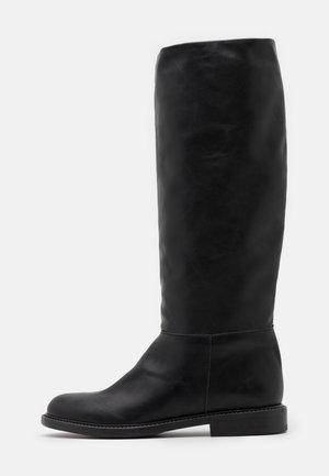 BOOT LISCIO - Høje støvler/ Støvler - black
