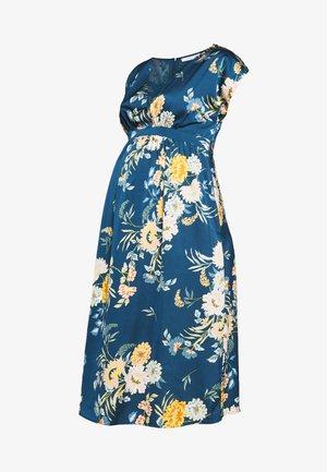 WRAP DRESS - Vestido informal - navy