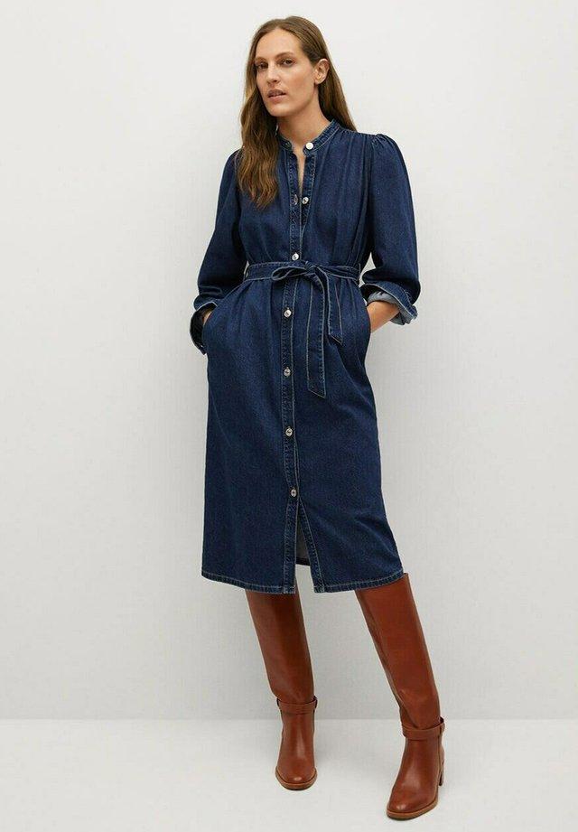 AVENIR-A - Denimové šaty - dunkelblau