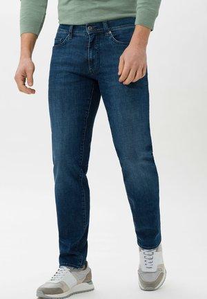 STYLE CADIZ - Jean slim - steel blue used