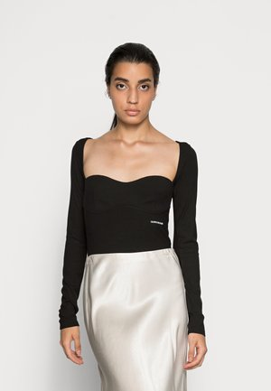 UNDERWIRE - Long sleeved top - black