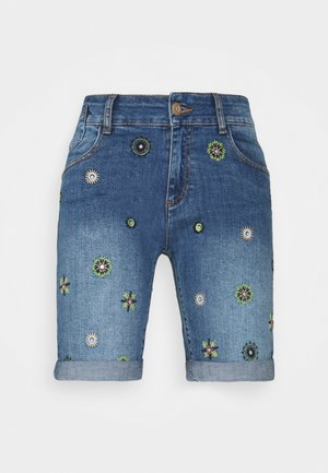 DENIM_GRECIA - Short en jean - blue