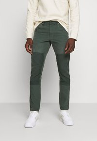 G-Star - FAEROES CLASSIC STRAIGHT TAPERED PM - Trousers - balsam - 0