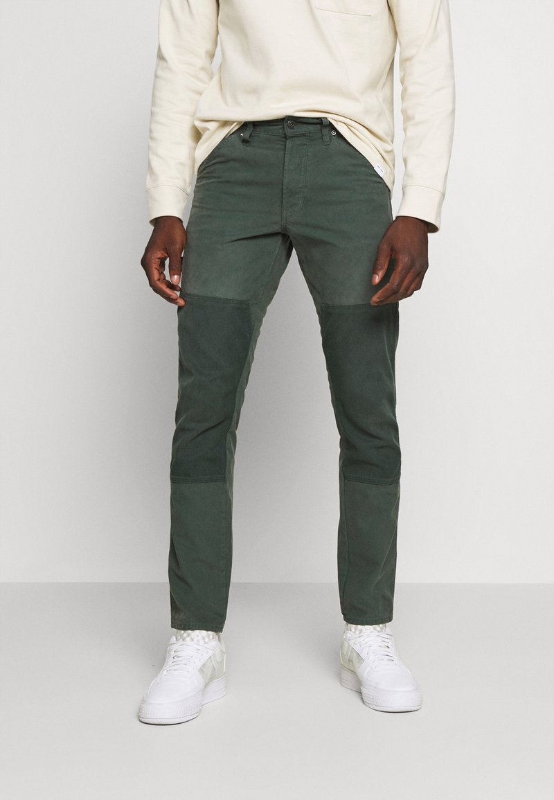G-Star - FAEROES CLASSIC STRAIGHT TAPERED PM - Trousers - balsam