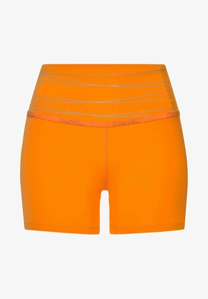 Sports shorts - hellorange-orange