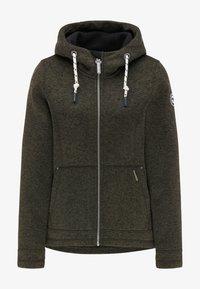 Schmuddelwedda - Light jacket - oliv melange - 4