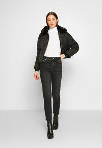 Pieces - PCNIMA - Jeans straight leg - black denim - 1