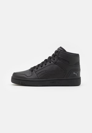 REBOUND LAYUP UNISEX - High-top trainers - black/dark shadow