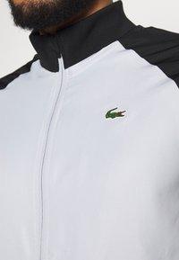 Lacoste Sport - TRACKSUIT - Träningsset - calluna/black/white - 10