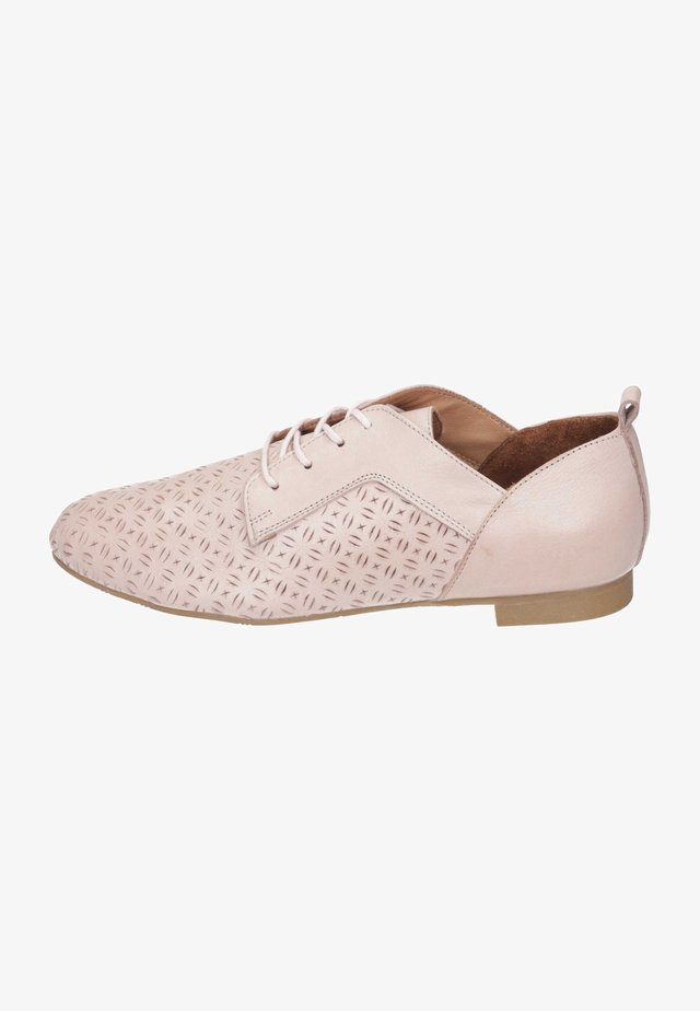 Casual lace-ups - rosa