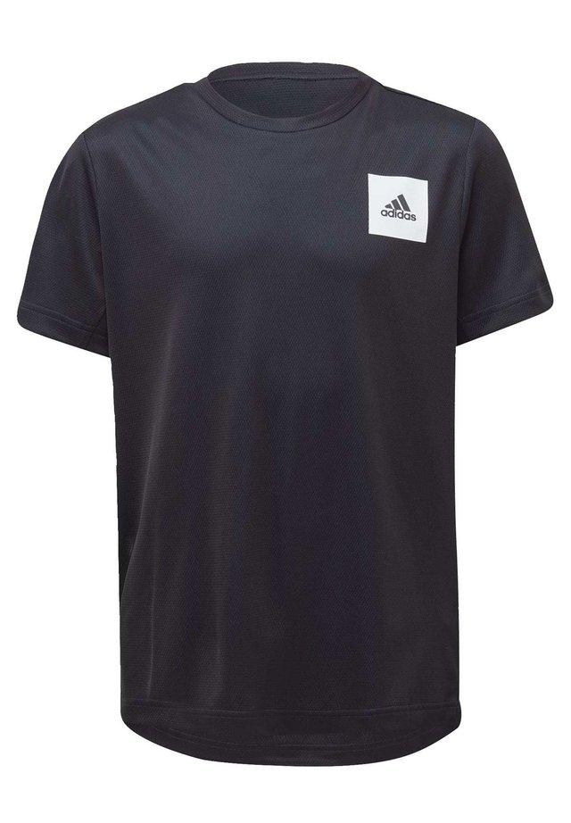 AEROREADY T-SHIRT - Print T-shirt - blue