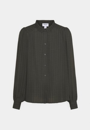 VMNOVA - Button-down blouse - peat