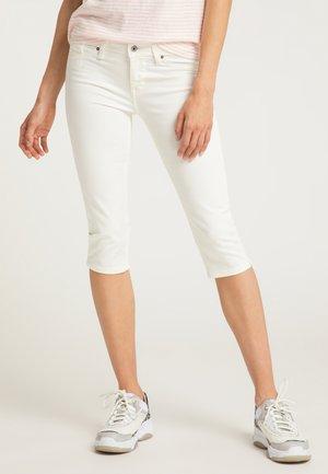 JASMIN  - Denim shorts - white