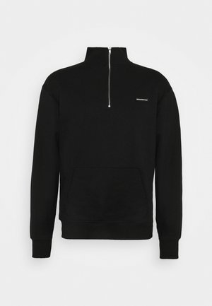 ZIP ESSENTIAL UNISEX - Sweater - black