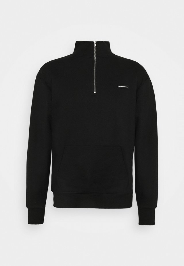 ZIP ESSENTIAL UNISEX - Sweatshirt - black