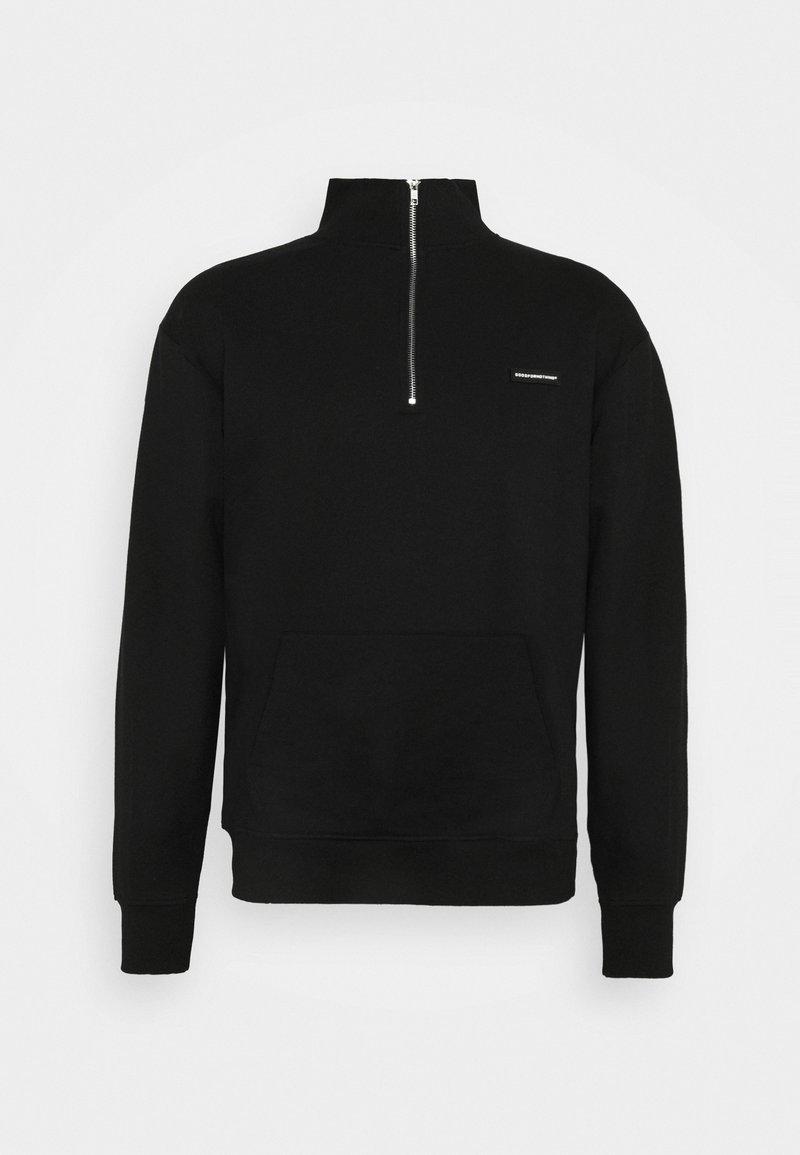 Good For Nothing - ZIP ESSENTIAL UNISEX - Sweatshirt - black