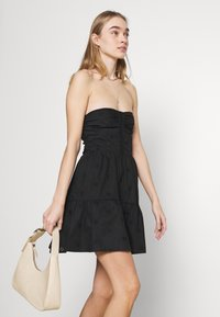 Fashion Union - TEASE DRESS - Cocktail dress / Party dress - black - 3