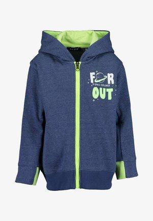 Zip-up sweatshirt -  jeansblau mel