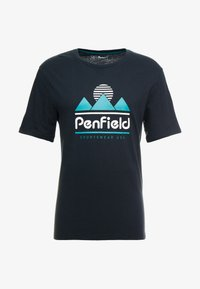Penfield - ABRAMS - Print T-shirt - black - 4