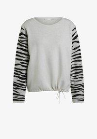 Oui - Jumper - white black - 5